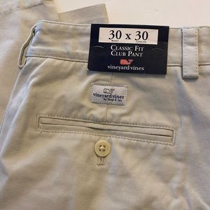 NWT Vineyard fine classic fit club pants
